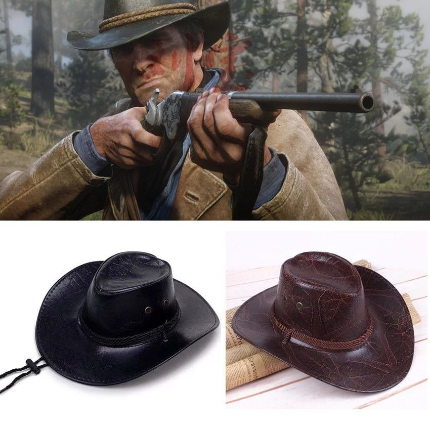 Red Dead Redemption 2 Hat Cosplay Cowboy Punk Hats Morgan