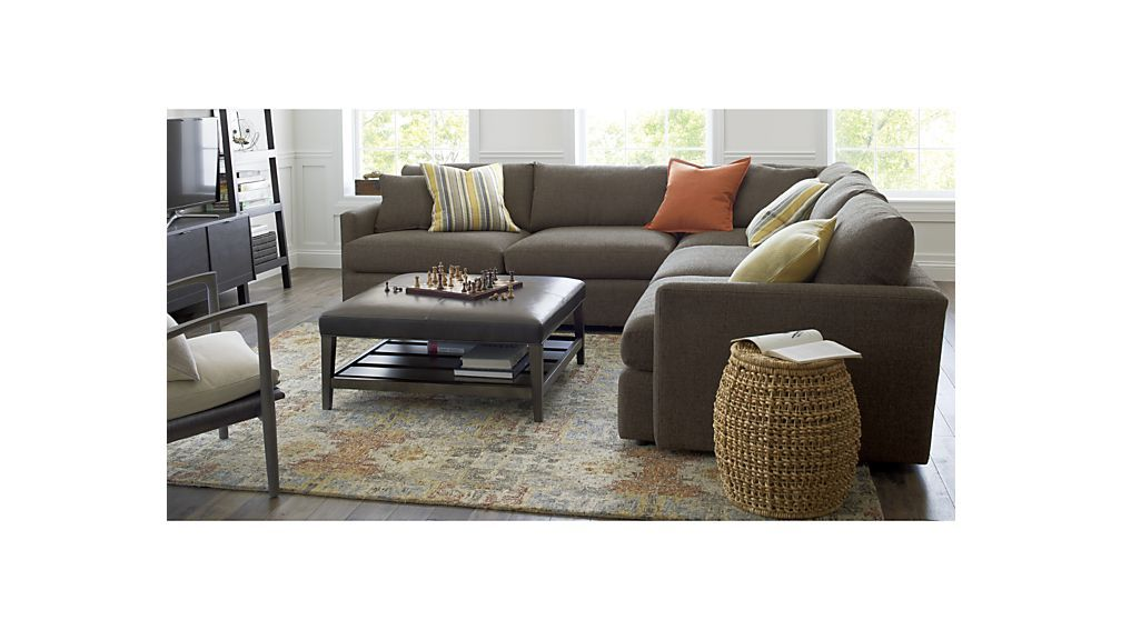 Incredible Lounge Ii 3 Piece Sectional Sofa Lower Level Hand Tufted Beatyapartments Chair Design Images Beatyapartmentscom