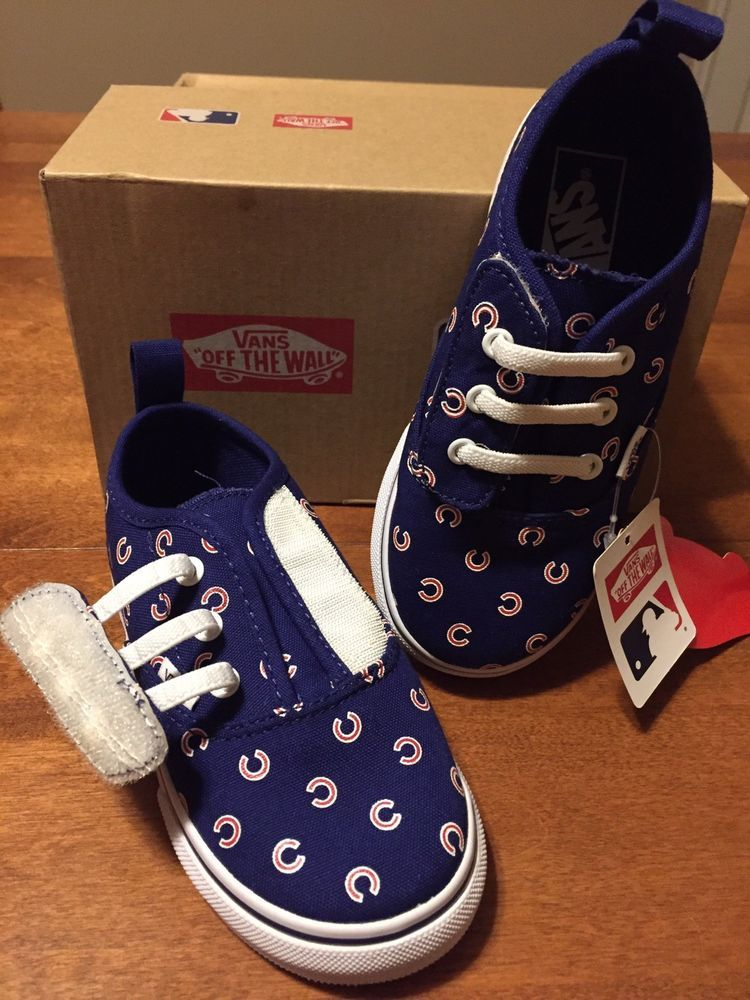 3cae11f0bae0 Vans Chicago Cubs MLB Rare Velcro Opening Toddler Size 9.0  fashion   clothing  shoes  accessories  babytoddlerclothing  babyshoes (ebay link)