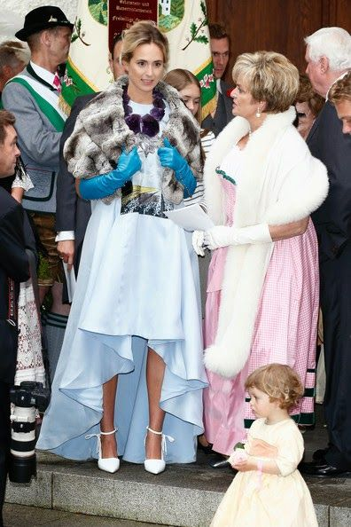 Royal Family Around The World Wedding Of Maria Theresia Princess Von Thurn Und Taxis And Hugo Wilson On 13 September 2014 In Tutzing Germany
