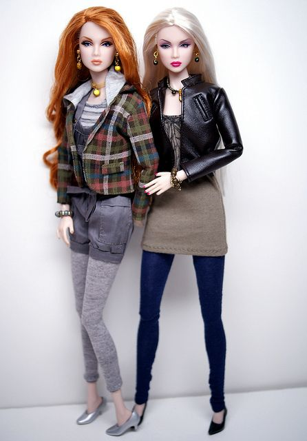 Eden & Lilith model new ClearLan jackets by Shuga-shug, via Flickr