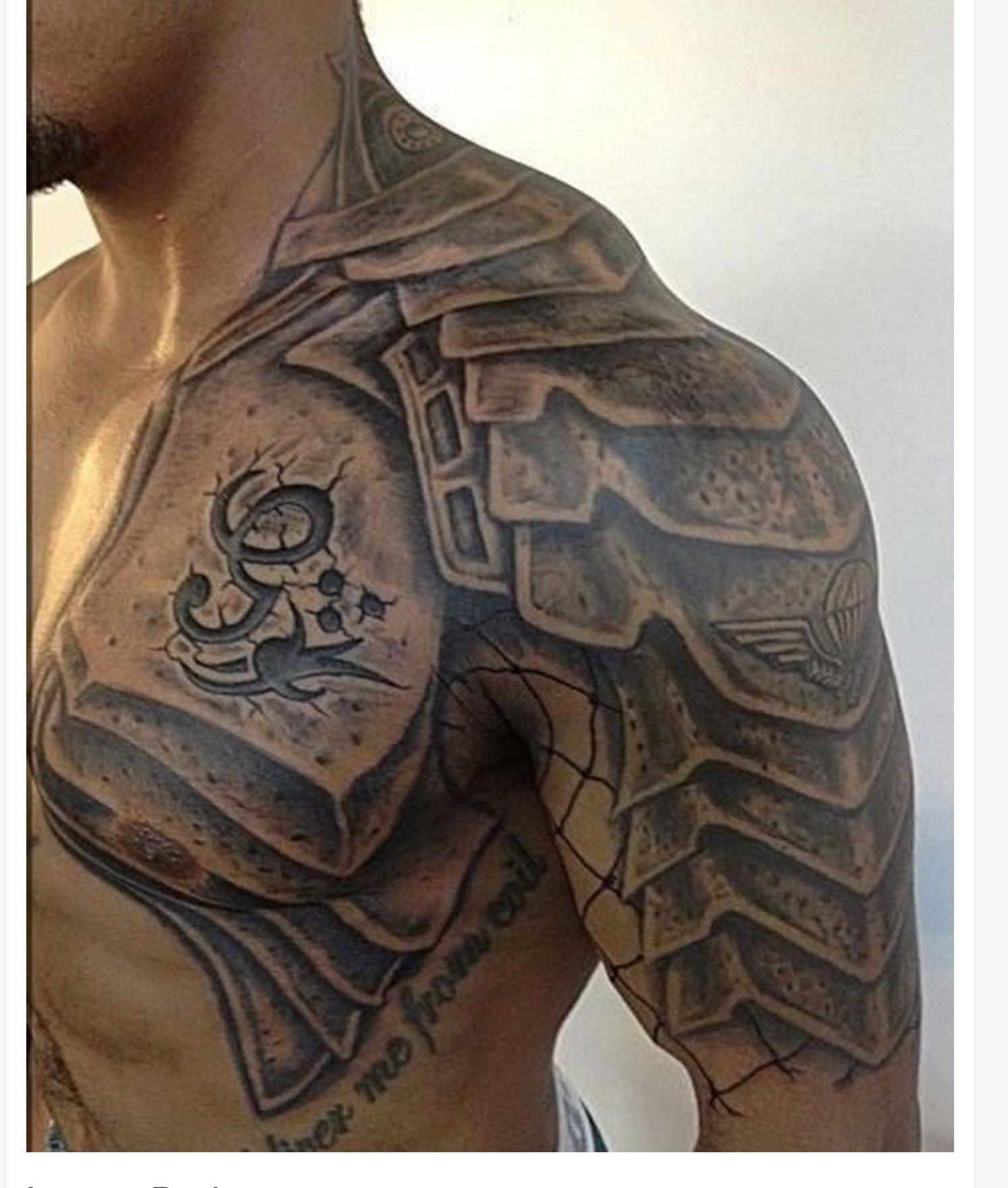 Pin by Nathanael Dardon on Tattoo Shoulder armor tattoo
