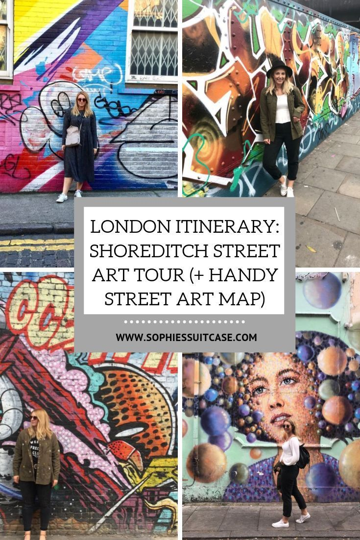 London Map Shoreditch Area: London Itinerary: Shoreditch Street Art Tour (+ Handy