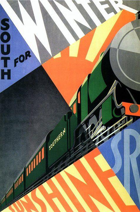 poster by Edmond Vaughan - 1929 via Denis Masharov