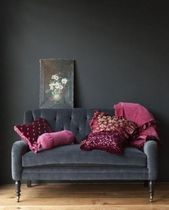Bedroom Grey And Pink Dark Walls 40 Ideas For 2019 #graybedroomwithpopofcolor Bedroom Grey And Pink Dark Walls 40 Ideas For 2019 #graybedroomwithpopofcolor