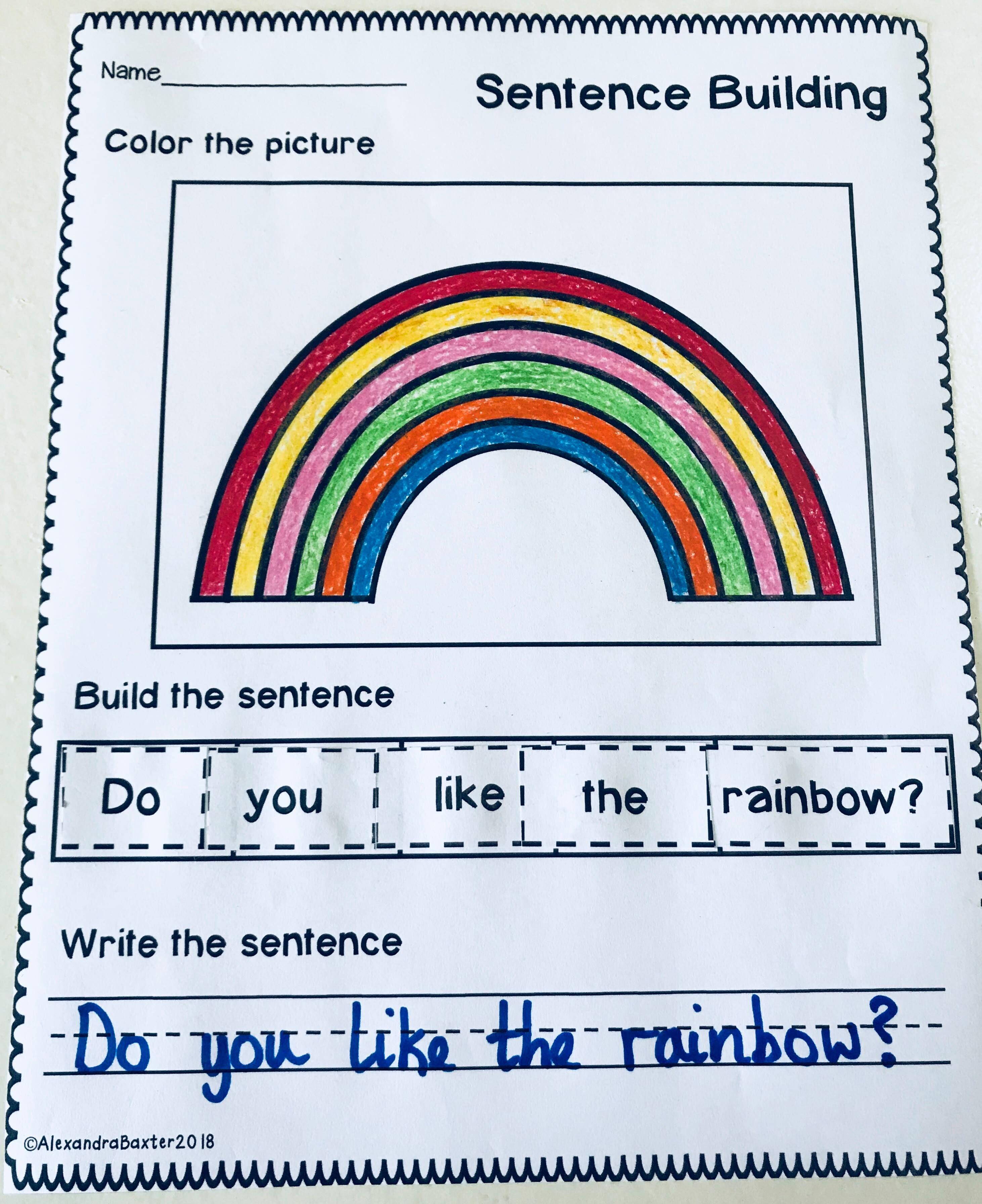 St Patrick S Day Sentence Building Worksheets Teaching Sentences Sentence Building Engaging Lessons [ 3585 x 2924 Pixel ]