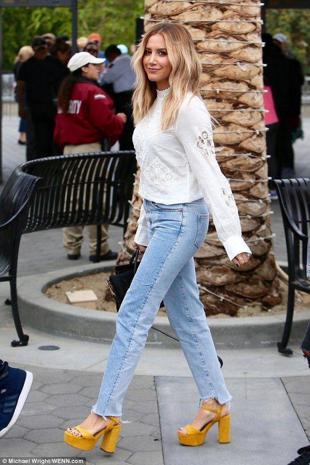 Ashley Tisdale Jeans