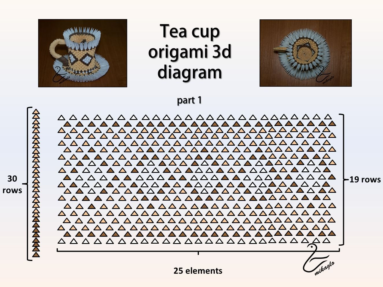 patterns 3d origami - Google zoeken | 3D origami used ... - photo#21