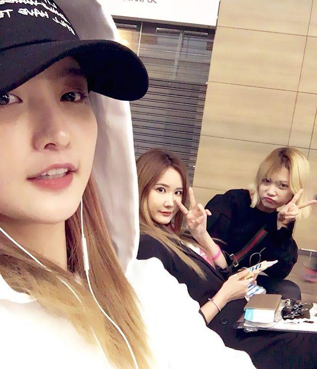 #Junghwa IG : #쫑엘옥#어젯밤이야기
