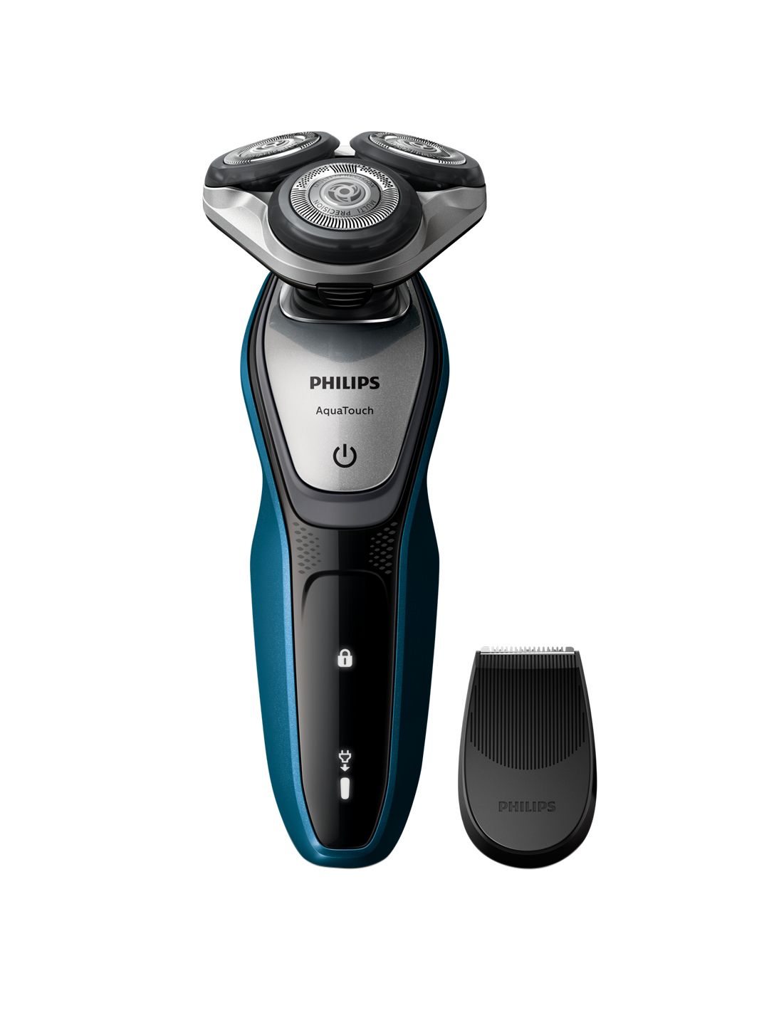 Philips Men Black Aqua Touch Wet Or Dry Shaver S 06 In