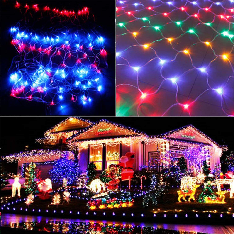 Babifis Led Lantern 64m 810m Net Light Fishing Net Lights Starry Lawn Lights Wedding Christmas Holiday Lights Outdoor Christmas Lanterns Solar Christmas Lights