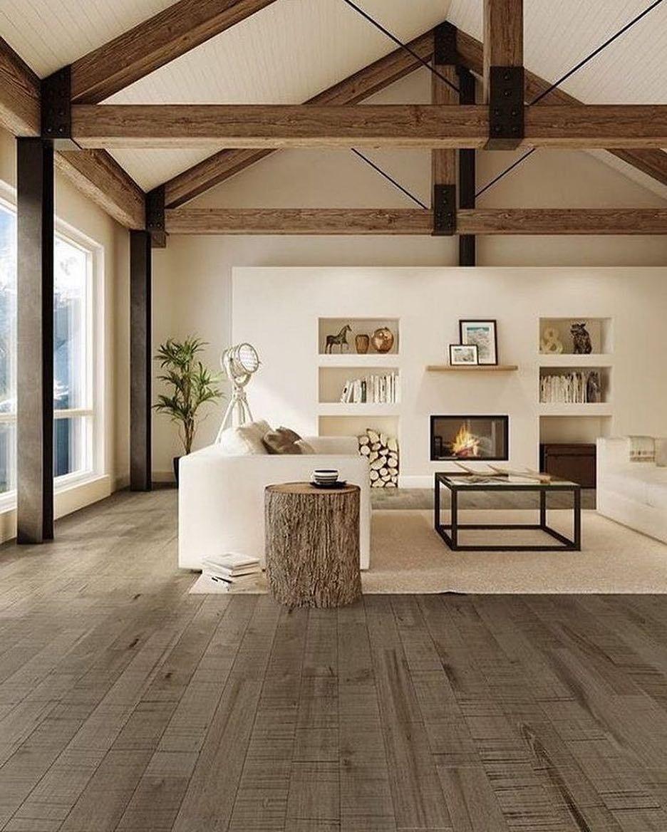 Home Design Ideas Instagram: Dream Casa On Instagram : Exposed Wood Beams