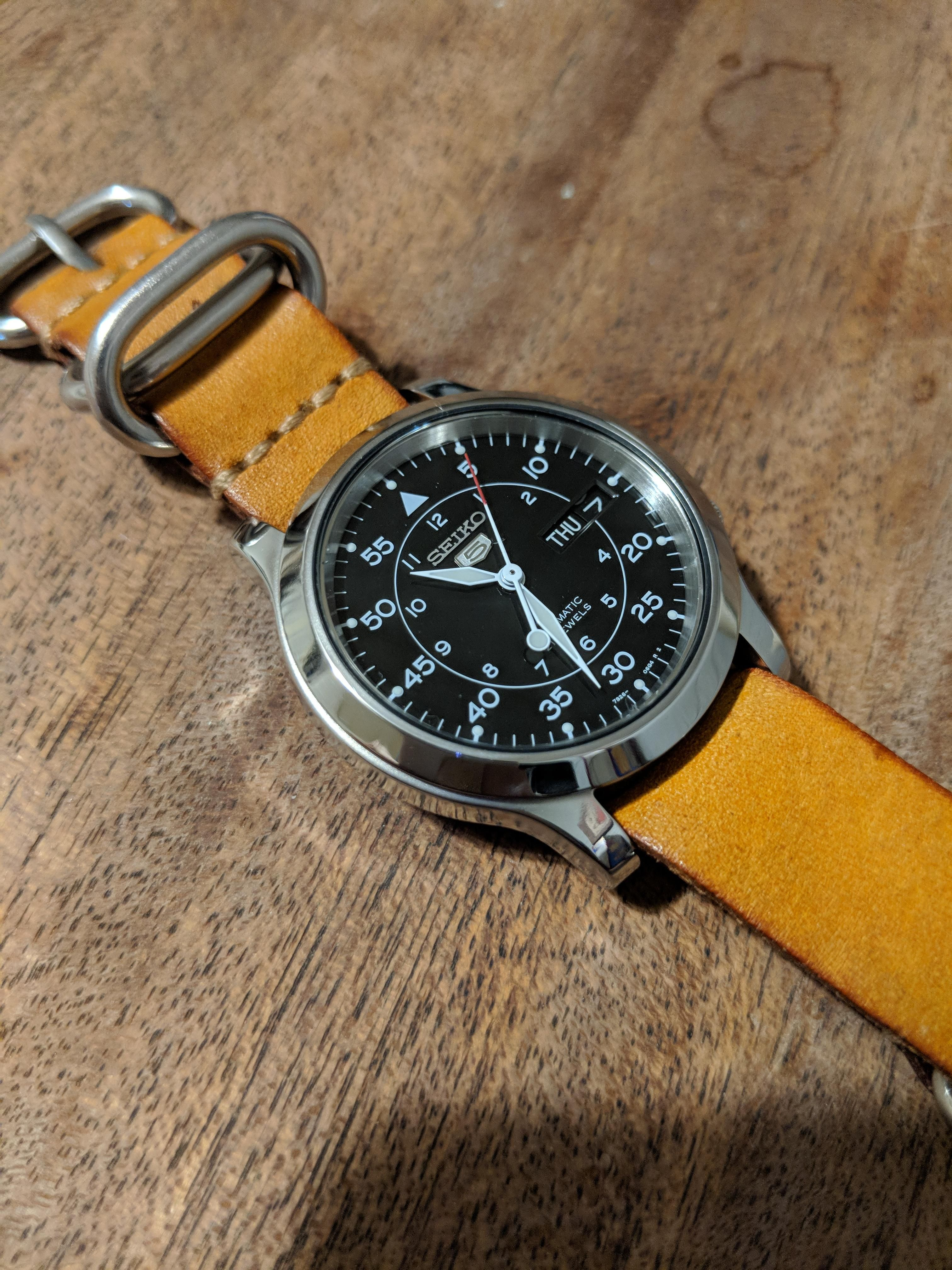 a9a8bc4a6 Seiko] Decided to polish my SNK809 | Watches in 2019 | Seiko watches ...