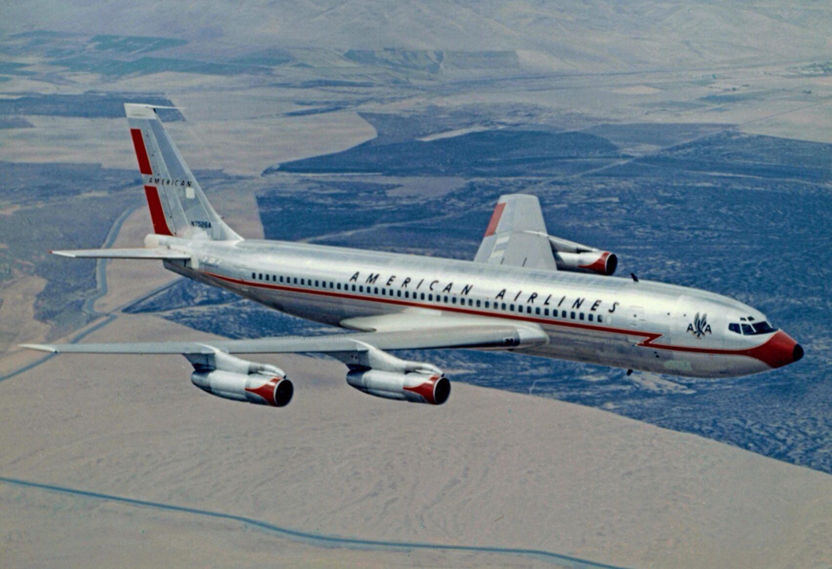American Airlines 707 FAR 121 Pinterest