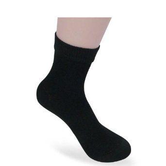 Landisun 3 Pairs Women Bamboo Black Quarter Long-Lasting Deodorant Socks BS5056 LANDISUN. $16.18