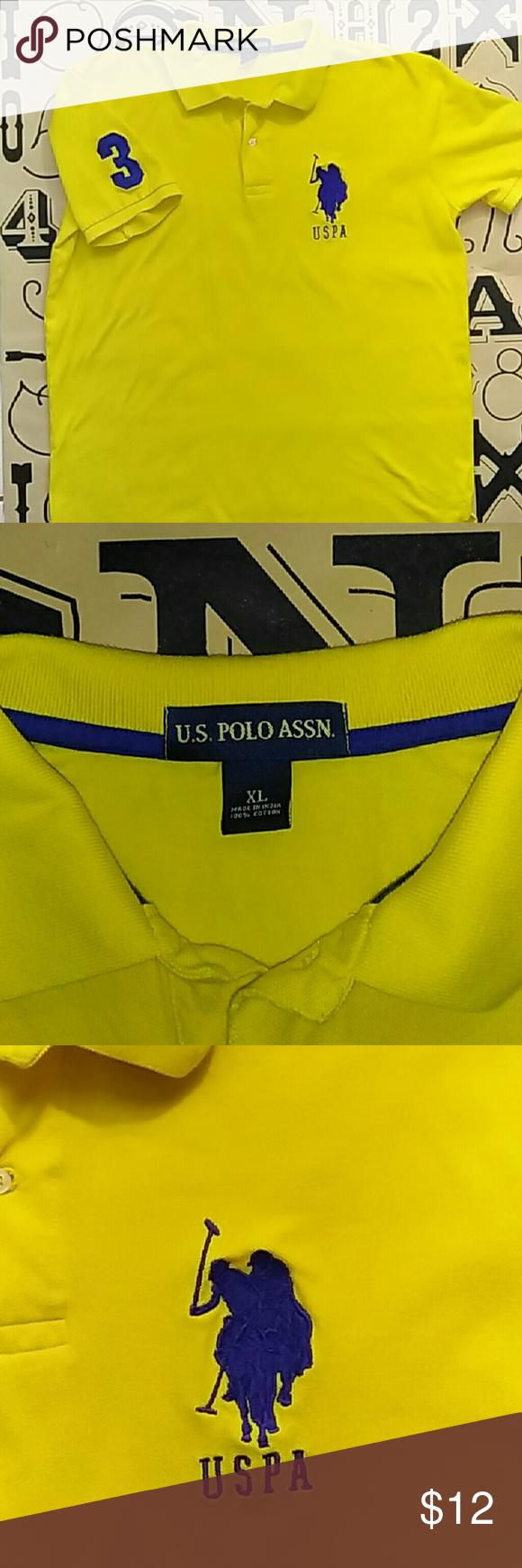 U.S Polo Ass. polo shirt Gently used U.S Polo Ass.  Polo shirt size XL U.S. Polo Assn. Shirts Polos