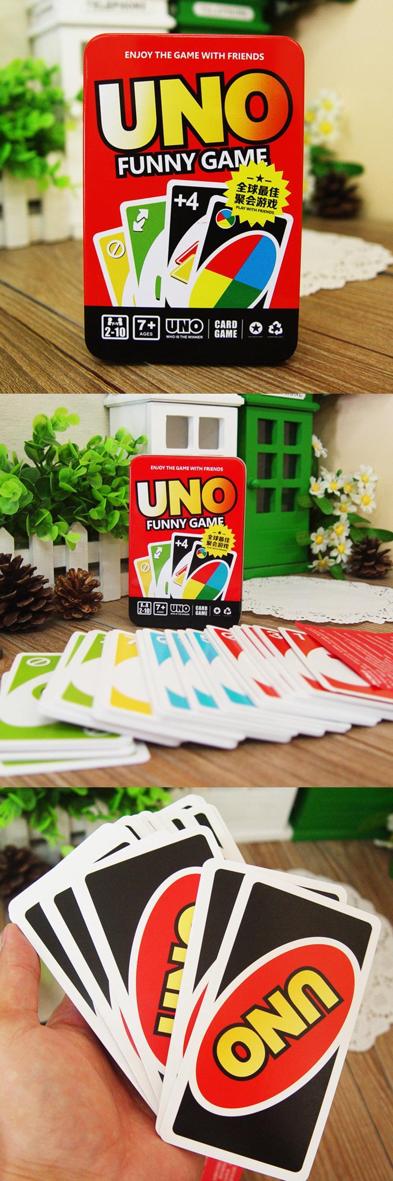 [Visit to Buy] UNO Playing Card Board Game Gambling Family
