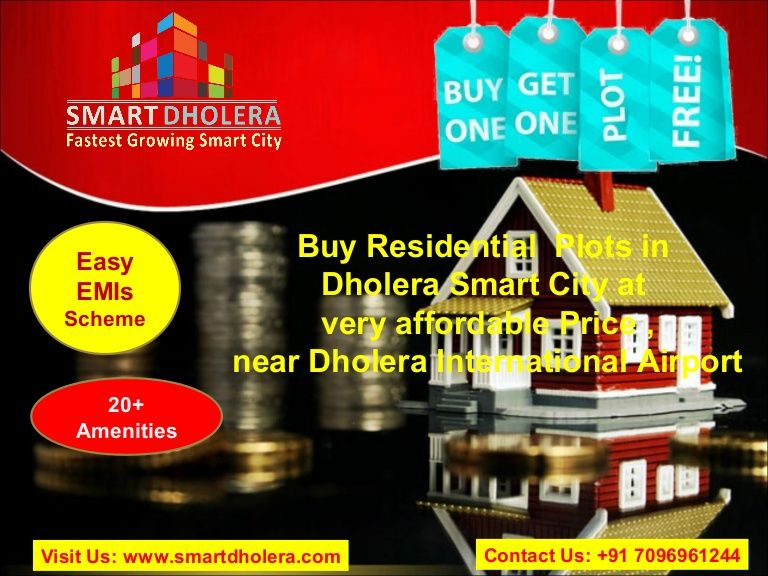 Book Residential Plots in India's First Smart City Dholera