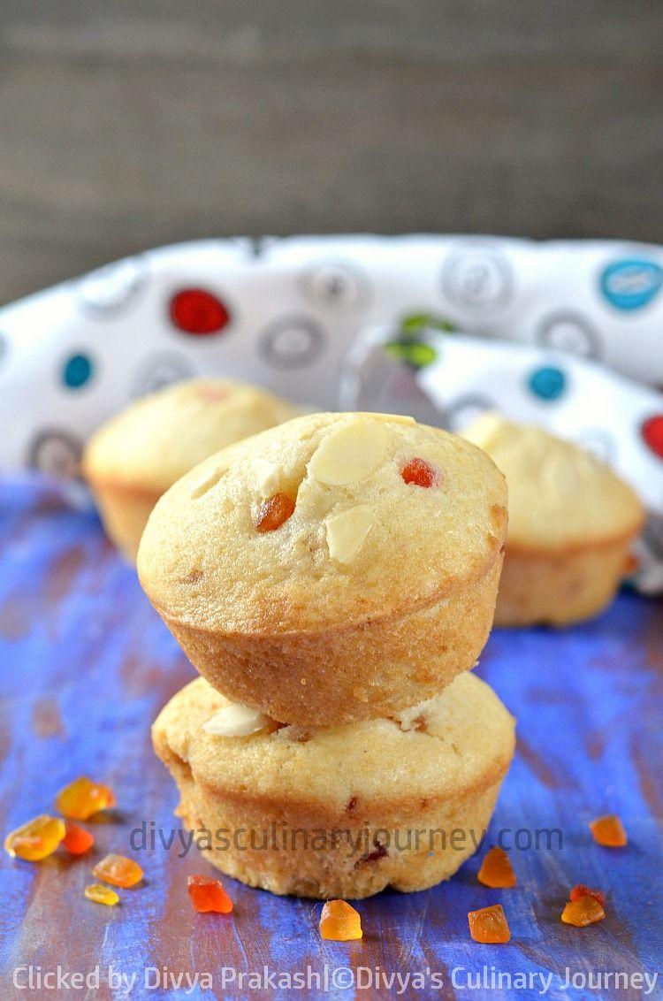 Eggless Tutti Frutti Muffins Cakes Muffins Muffin Recipes