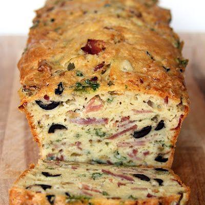 Olive, Bacon, & Cheese Bread Recipe