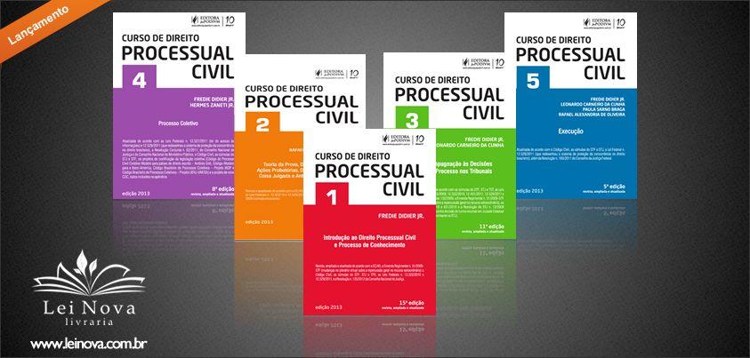 Coleção Curso de Direito Processual Civil - Editora #Juspodivm - www.leinova.com.br