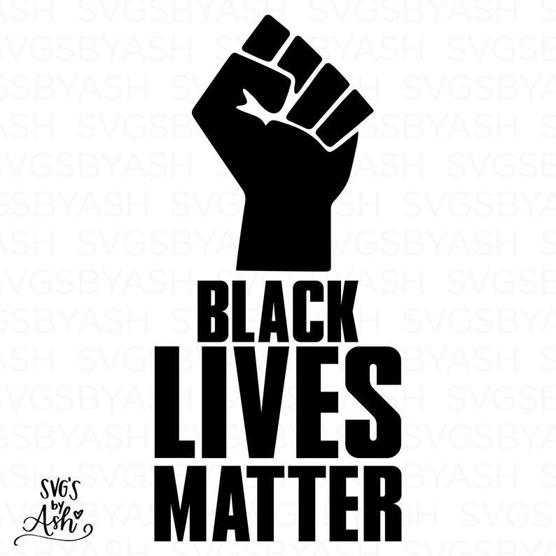 Black Lives Matter Svg Black Lives Matter Sign Blm Movement Etsy Black Lives Matter Black Lives Black History Quotes