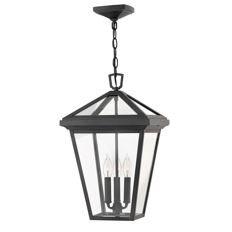 Hinkley Lighting 2562 Alford Place 3 Light 12 Wide Outdoor Pendant Museum Black Outdoor Lighting Pendants Outdoor Hanging Lights Outdoor Hanging Lanterns Outdoor Ceiling Lights