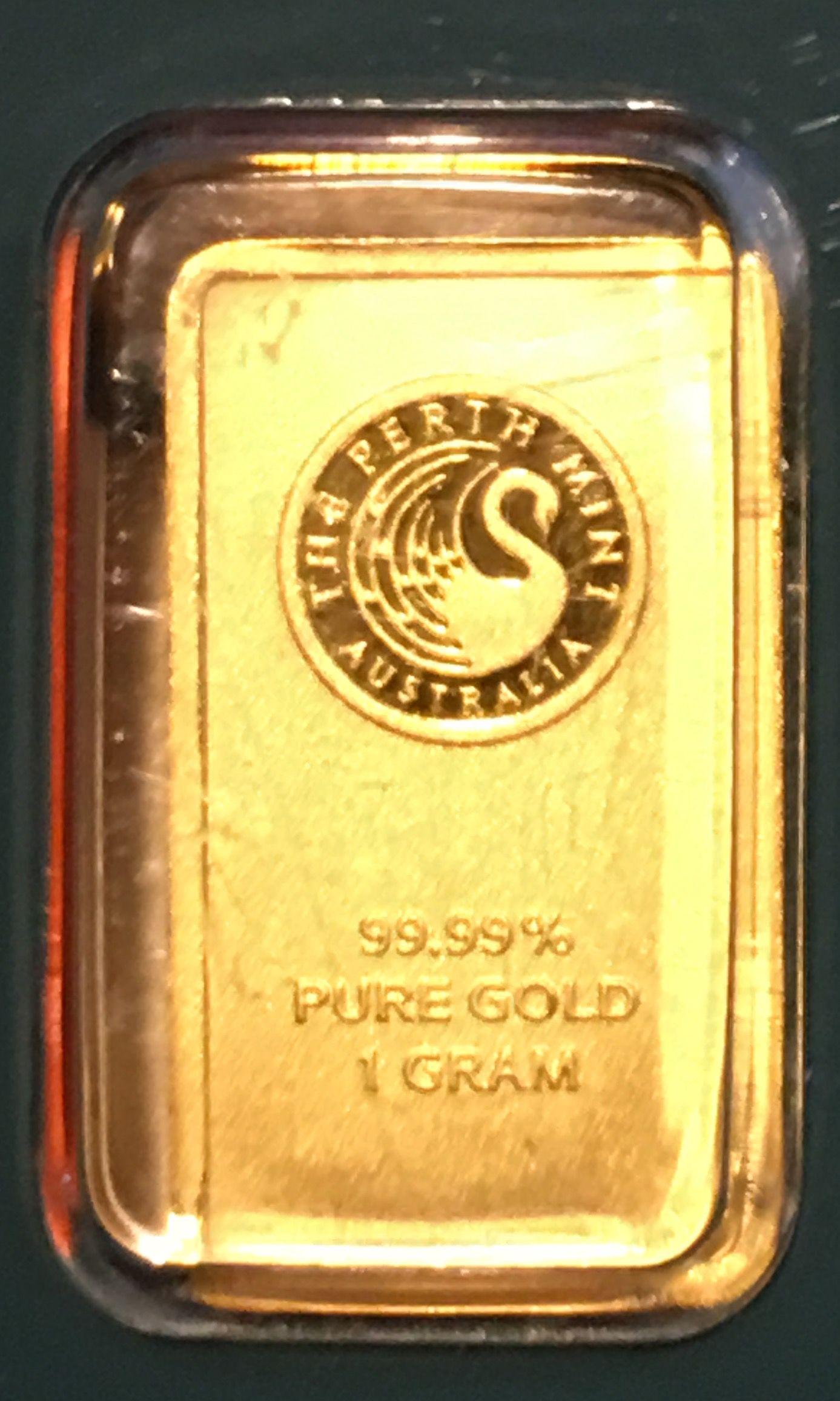 1 Gram Bar Pure Gold Pure Products Precious Metals