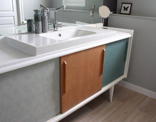 meuble salle de bain vintage toulouse | Meubles de rangement ...