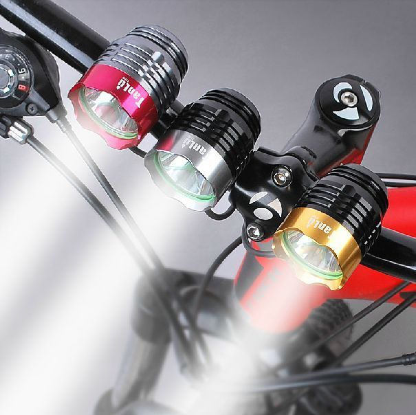 Mini Waterproof Bicycle Head Light 550 lumen USB Rechargeable Bike Front Torch