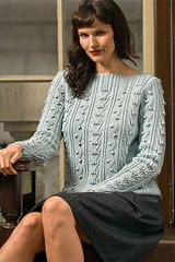 Ravelry: Forbes Forest Pullover pattern by Kathy Zimmerman