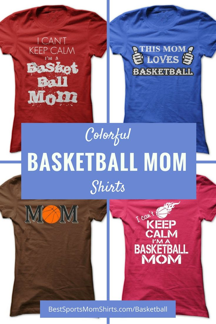 {ad} Check out these cool colorful basketball mom shirt ideas!