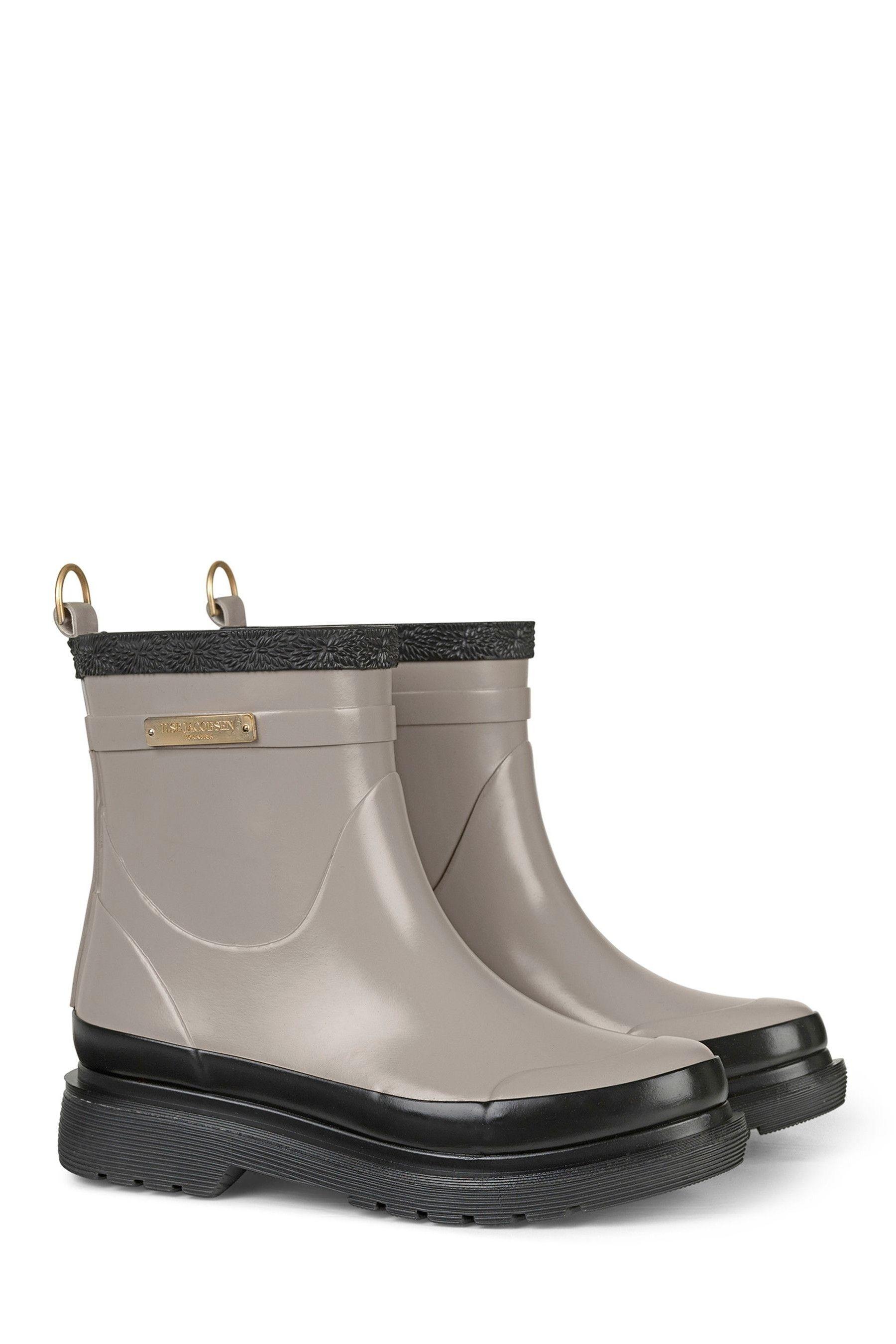 Ilse Jacobsen RUB1 Tall Grey Womens Boots