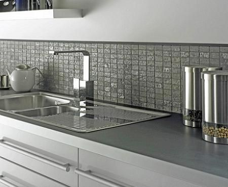 Azulejo De Cocina | Azulejo Frente Brillante Backsplash Pinterest Kitchens