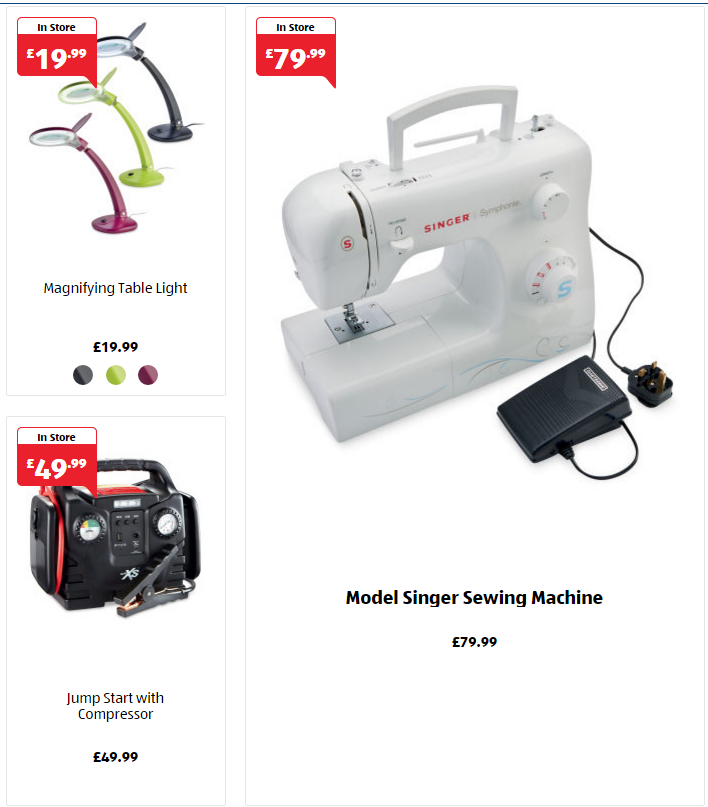 Aldi Specialbuys Thursday 40th February 40 Looking To Know What's Cool Aldi Sewing Machine 2016