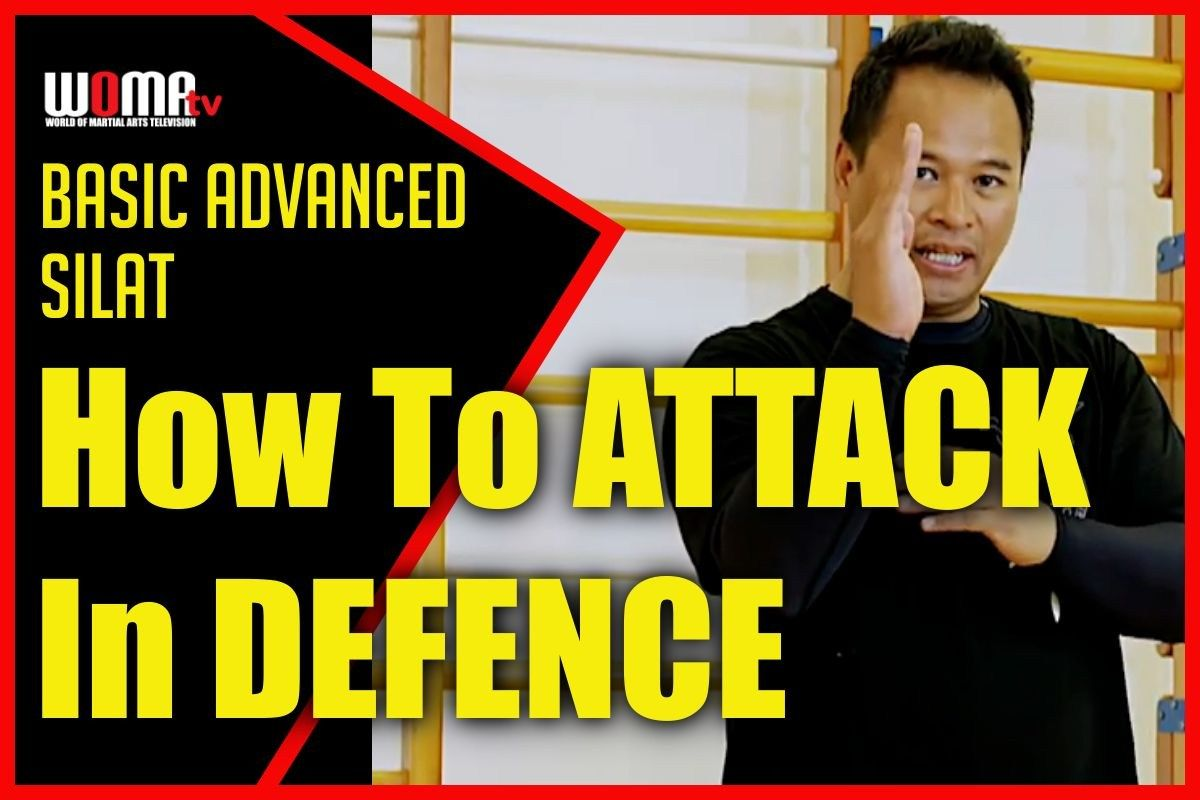 How to attack in defence silat martial arts defence attack