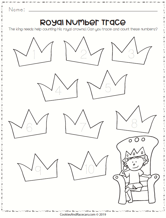 The Fairy Tale Worksheet Pack Includes 7 Free Worksheets Including Tracing Matching Counting A Fairy Tales Preschool Fairy Tale Activities Fairy Tale Crafts