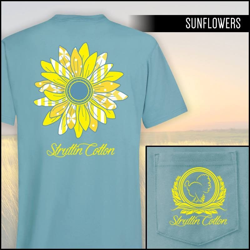 Sunflowers Perfect Pocket SS Tee
