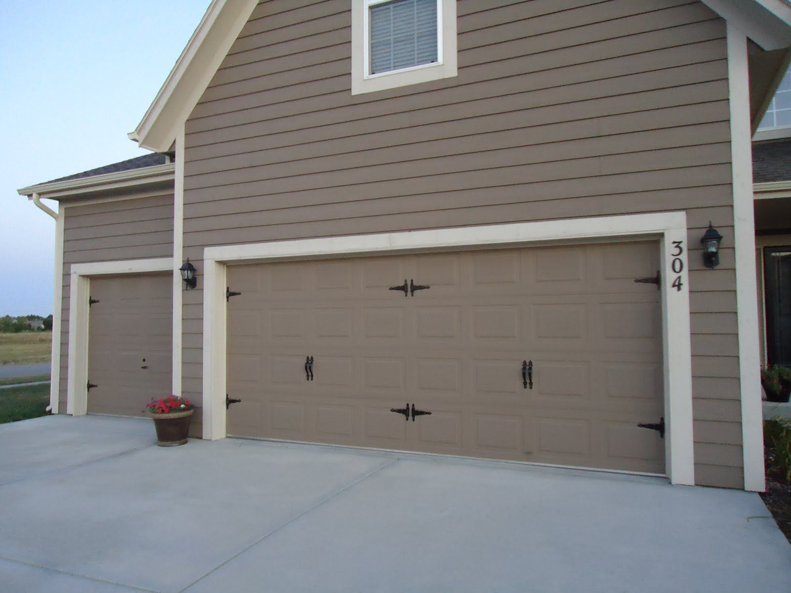 design ideas exterior driveway modern best stone car decoration door garage and luxury pavers grey house white trim with