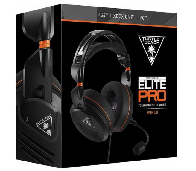 Turtle Beach Elite Pro Tournament Wired Gaming Headset For Ps4 Xbox One Pc Vg Gaming Headset Headset