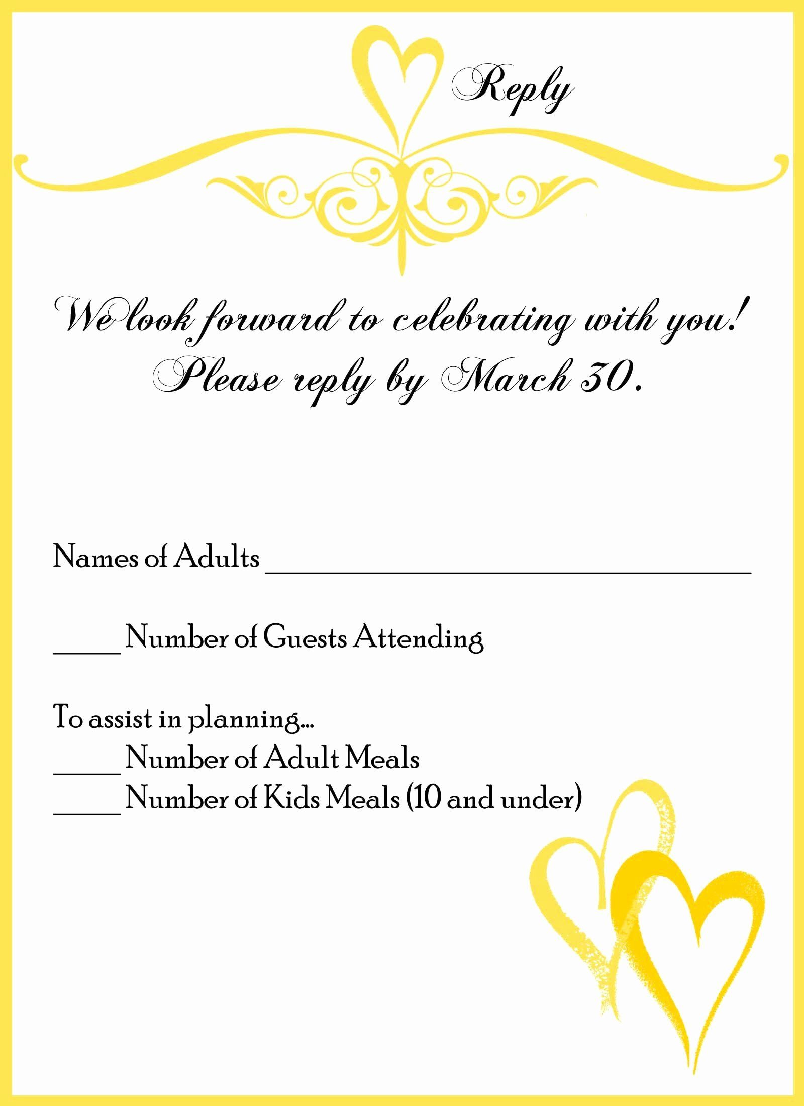 Wedding Response Card Unique Wedding Invite Reply Card Monzarglauf Verband In 2020 Wedding Response Cards Rsvp Wedding Cards Wedding Reply Cards