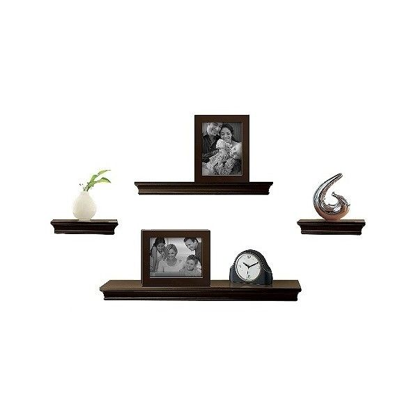 Melannco Floating Shelves Mesmerizing Wall Shelves Floating Shelves Wall Shelf Threshold Floating Wall Design Ideas