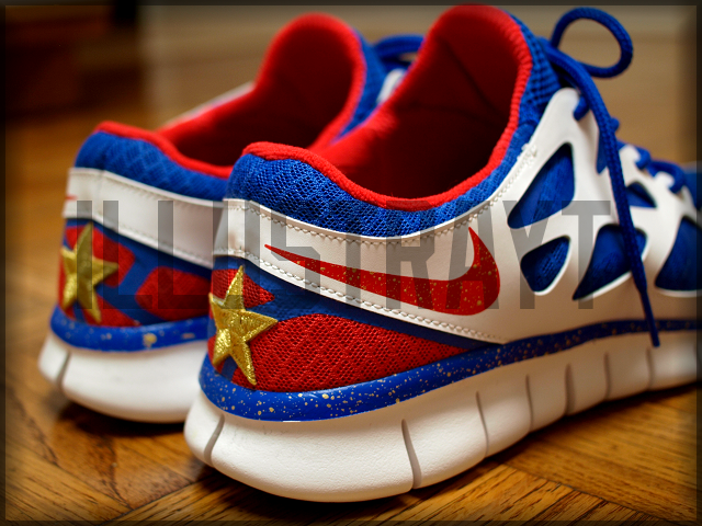 Filipino Flag shoes :) omg im goin to get these for daddy.