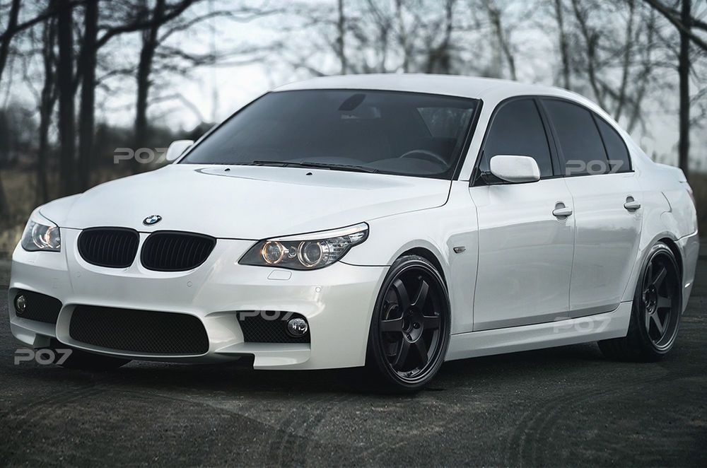 BMW E60 F10 LOOK  FRONTSTANGE HECK STOßSTANGE SEITENSCHWELLER  Body Kit #audivehicles