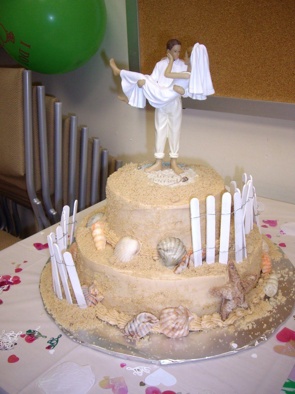 Beach Themed Wedding Cake Beach Theme Wedding Cakes Beach