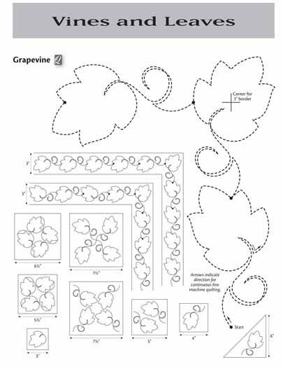 !Insights From SewCalGal: 501 Quilting Motifs Designs For