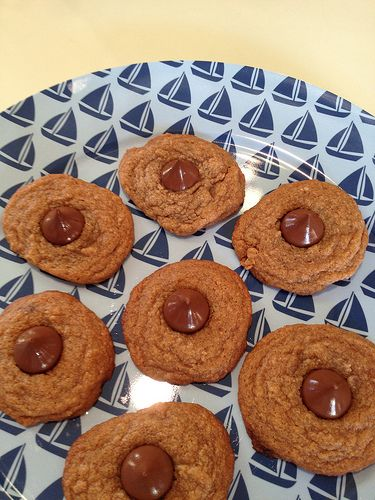 swanky::chic::fete: peanut butter blossoms