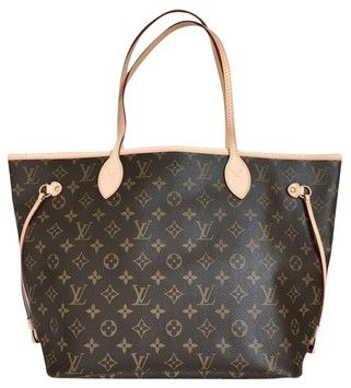 7d61b4b98b93 Louis Vuitton NEW MADE IN SPAIN Neverfull Nm Mm Monogram Tote Bag ...