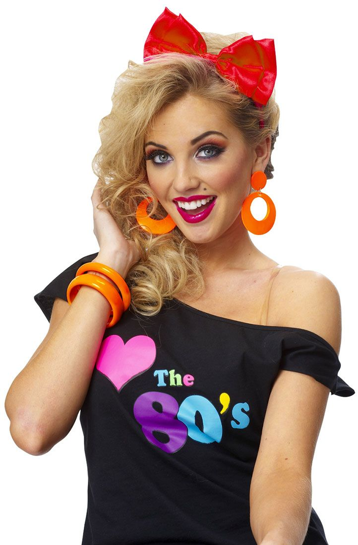 80s Hairstyles For Women Headbands 80s Hairstyles For Women 80s Party Outfits 80s Halloween Costumes Halloween Costumes For Teens Girls