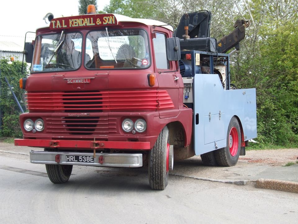 Scammell Recovery Truck Commercial Vehicle Classic Trucks